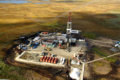 Oil spill in the Russian Arctic: The Trebs field of the Russian Bashneft