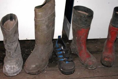 The boot mystery - Lonesome boots in Sveagruva