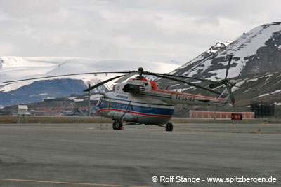 Russian commercial helicopter traffic and the Spitsbergen treaty ...