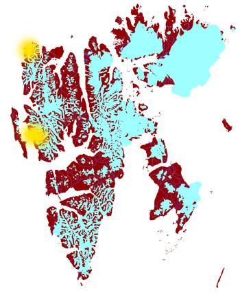 Spitsbergen 2012/09/06-20 - Map