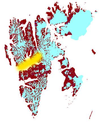 Map: Spitsbergen 2012/09/21-29