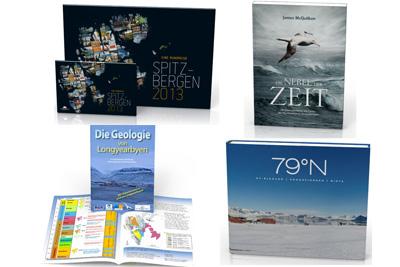 Neue Bücher und Kalender bei Spitzbergen.de.