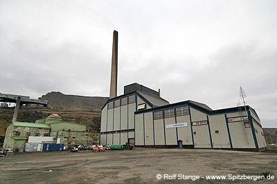 Power plant, Longyearbyen.