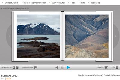 Fotobuch Spitzbergen, September 2012, von H.&A. Dessl