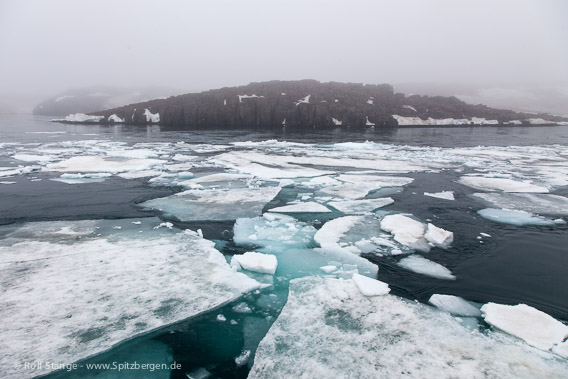 Drift ice and poor visibility: conditions to be avoided in Heleysund and Ormholet