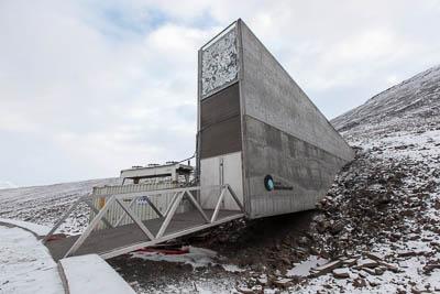 See vault near Longyearbyen