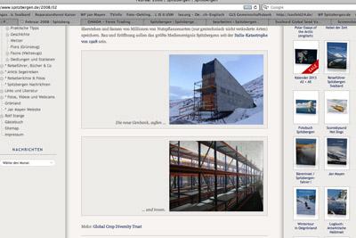 Spitzbergen.de-Nachricht vom Februar 2008