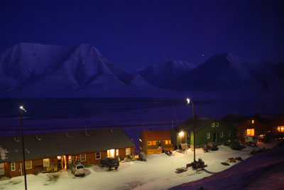 Spitsbergen-Svalbard.com and the Ross Sea - Polarnacht in Longyearbyen