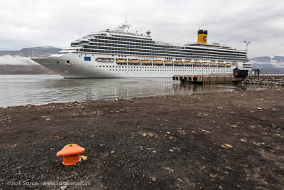 Spitsbergen-tourism: growth in certain parts: Costa Magica