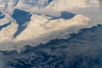 Eisbär erschossen - Westküste Spitzbergens bei Hyttevika.