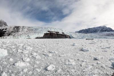 Glacier ice, east Greenland