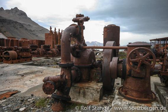 Grytviken: whaling station technical stuff