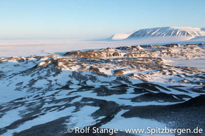 on the way to the east coast of Spitsbergen