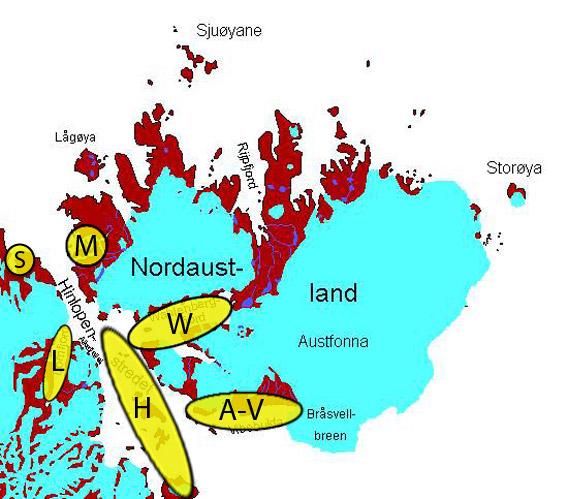 Map Hinlopen & Nordaustland