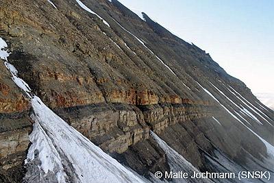Lunckefjellet, Spitzbergen
