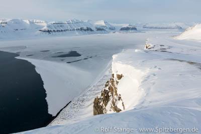 Fjord ice, Tempelfjord