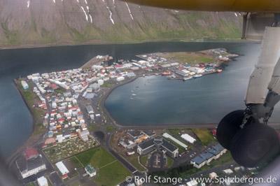 Arktis Blog: Anflug Ísafjörður