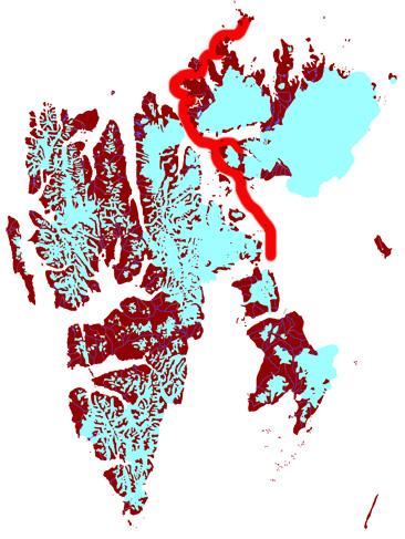 Spitzbergen für Fortgeschrittene mit der Arctica II, 2014: Karte 3