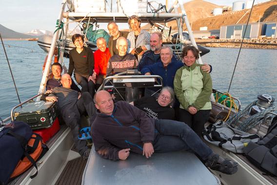 Mit der Arctica II rund um Spitzbergen, 04.-22. August 2014 - Gruppenfoto 1