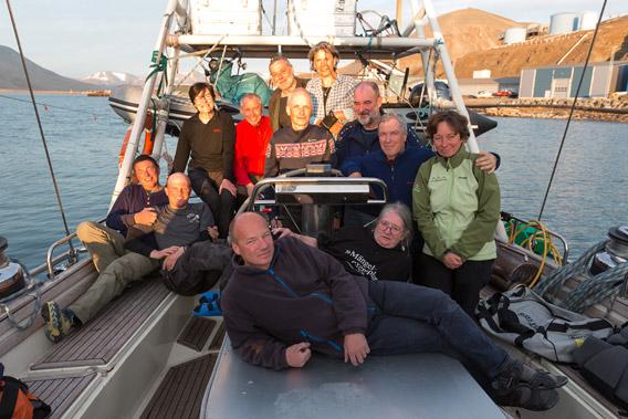 Mit der Arctica II rund um Spitzbergen, 04.-22. August 2014 - Gruppenfoto 2