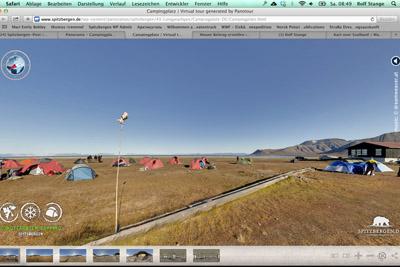 Longyearbyen Campingplatz virtuelle Tour