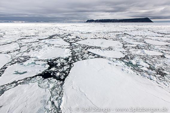 drift ice, southeastern Svalbard