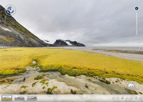 Magdalenefjord - Gravneset Gullybukta
