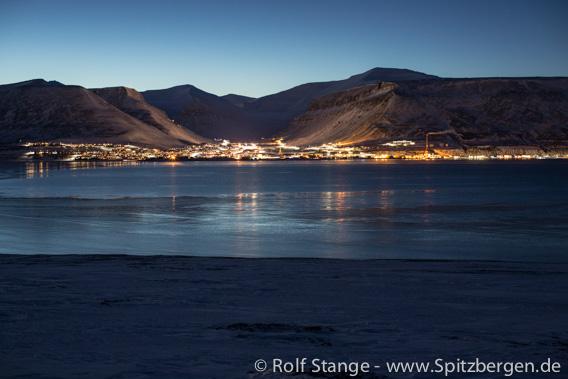 Longyearbyen Dunkelzeit