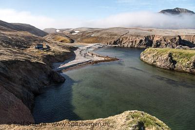 Die Bäreninsel: Grenzstein im Grenzenlosen