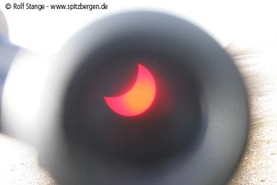 Sonnenfinsternis Spitzbergen