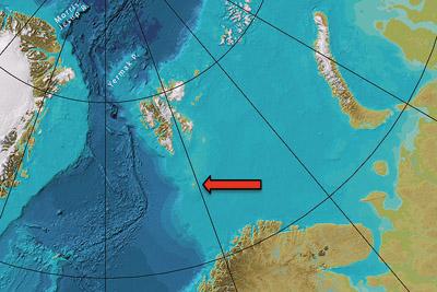 Kontinentalschelf Barentssee