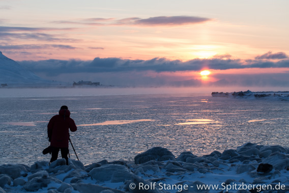 Fotografieren, Spitzbergen Winter