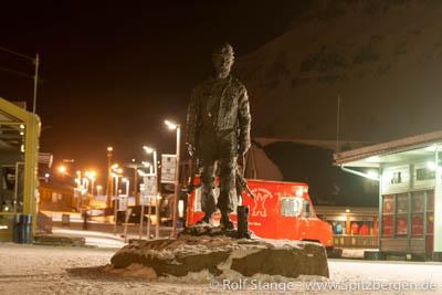 miner in Longyearbyen