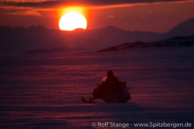 photo trip Svalbard winter