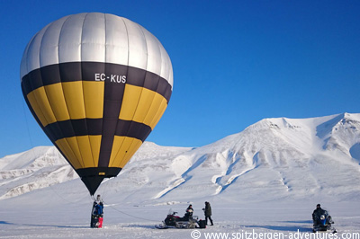 Spitsbergen balloon adventure