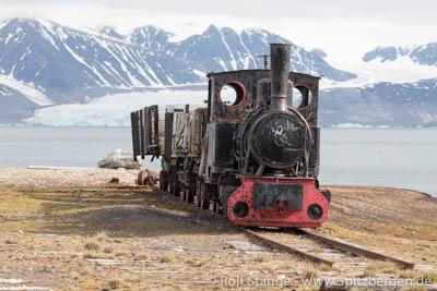 Locomotive Ny Ålesund
