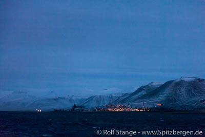 Temperature record in Longyearbyen