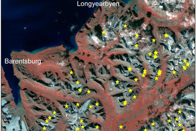 Extreme weather: recent avalanches landslides in Spitsbergen