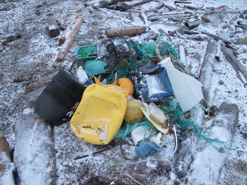 Plastic waste: Unfortunately no exception on Spitsbergen