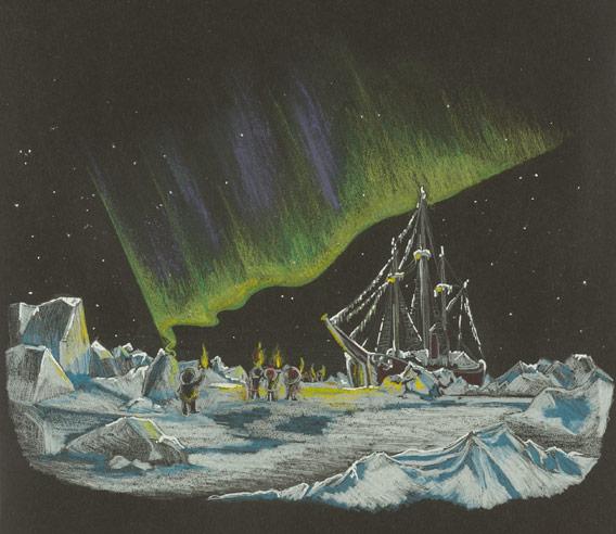 Arktische Weihnachten: Weyprecht und Payer mit dem Tegethoff in Franz Josef Land