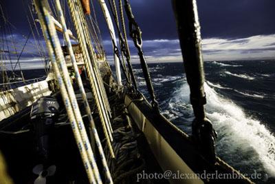 Storm Spitsbergen