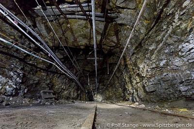 Coal mining, Svalbard.