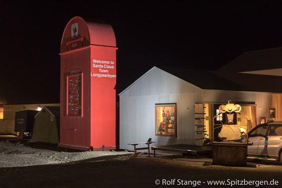 Der Briefkasten des Weihnachtsmanns - 20. November 2017 - Spitzbergen