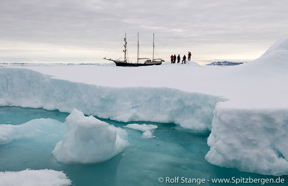 Eislandung auf 80 Grad Nord
