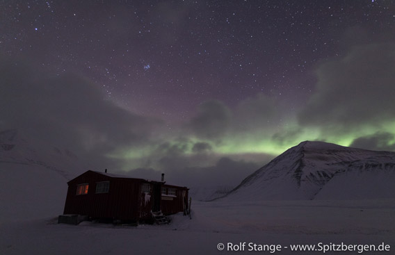Northern light above Foxdalen