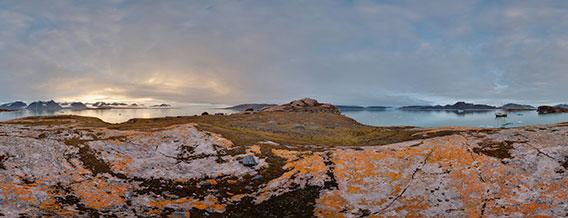 Spitzbergen - 360°-Panoramen