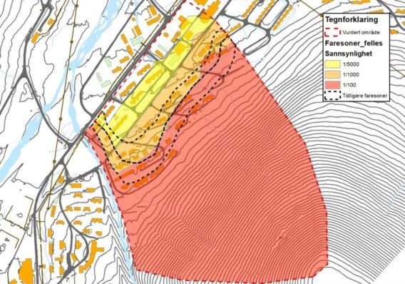 SGefährdungszonen Longyearbyen