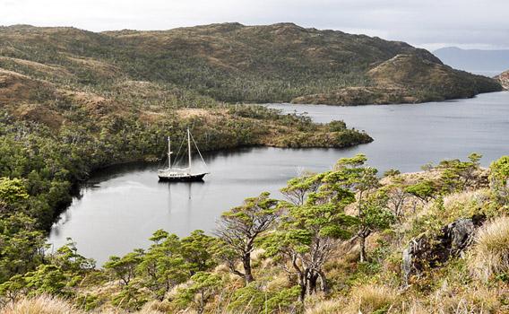 Patagonien Segeln mit Anne-Margaretha