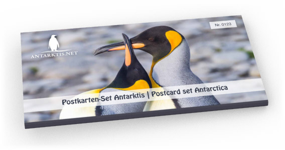 Limited edition postcard set Antarctic