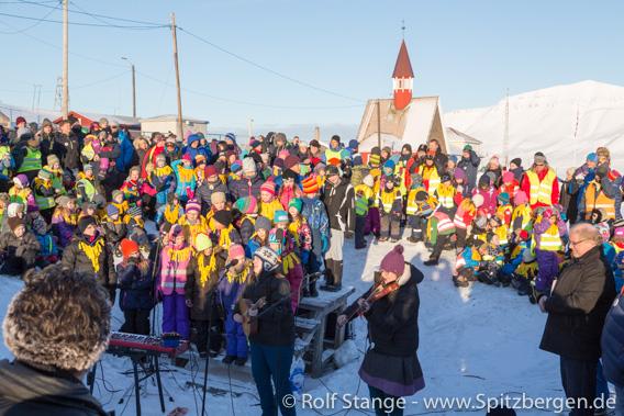 Sonnenfest Longyearbyen
